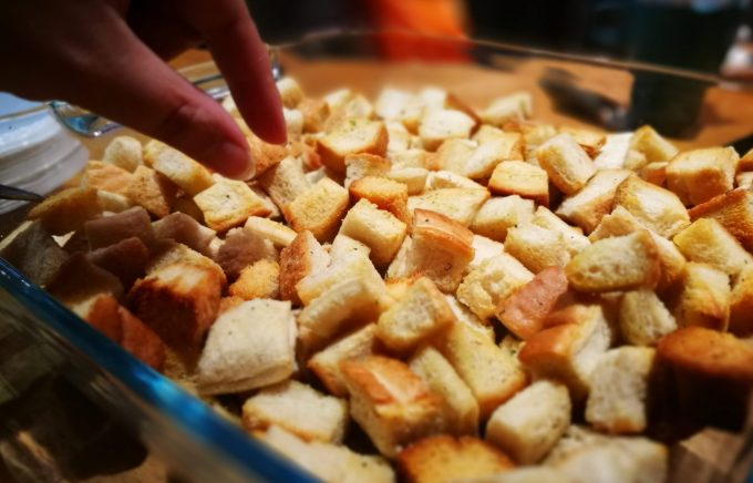 Croutons at Reading SOUP